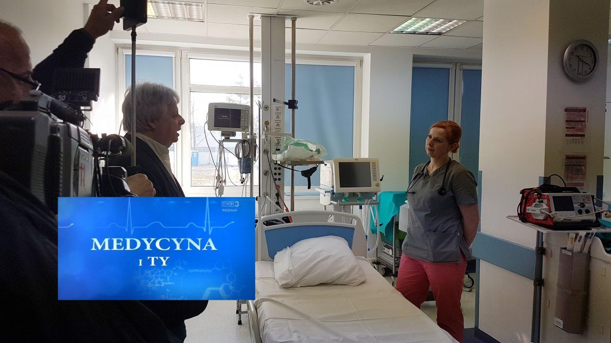 O szpitalu na antenie telewizyjnej