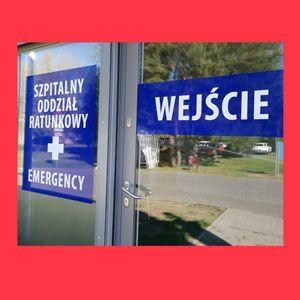 Kontener dla pacjentów Szpitalnego Oddziału Ratunkowego
